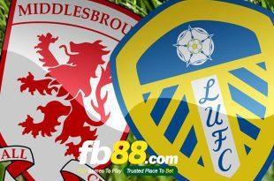 Dự đoán tỷ số bóng đá hôm nay Middlesbrough vs Leeds United