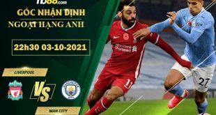 Tỷ lệ kèo Liverpool vs Man City