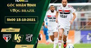 Tỷ lệ kèo Sao Paulo vs Ceara